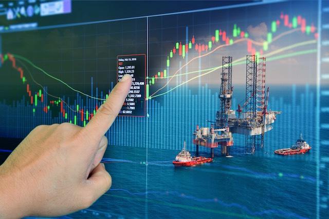 tengeri olajfuro torony grafikon