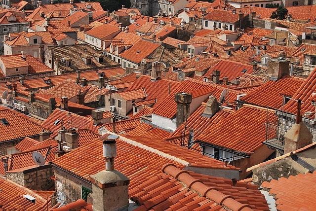 Horvatország_Dubrovnik_Cserép_Kémények
