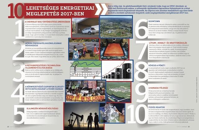 10 lehetséges energetikai meglepetés 2017-ben