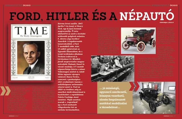 Ford Hitler és a népautó Energiafigyelő