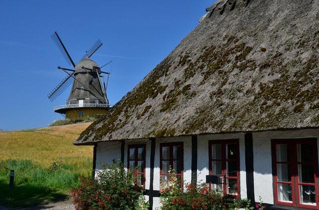 Dánia szélmalom