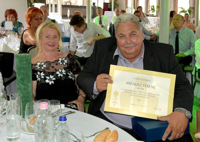 GÉMOSZ díjátadó_2017 Krénusz Ferenc