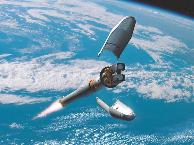 Galileo GPS műhold pályára állítás