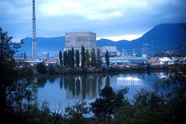 A Central nuclear Santa María de Garoña atomerőmű. kép: wikipedia