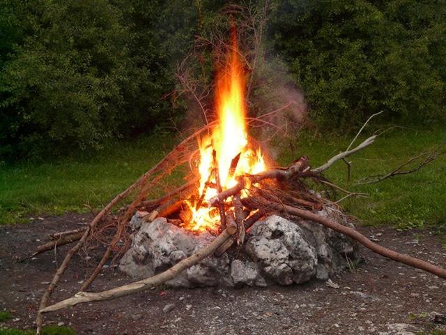 grill tűzrakás