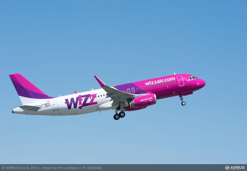 A320 WIZZ AIR Sharklets