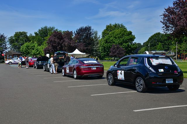 All Electric Vehicle Rally 2013-4