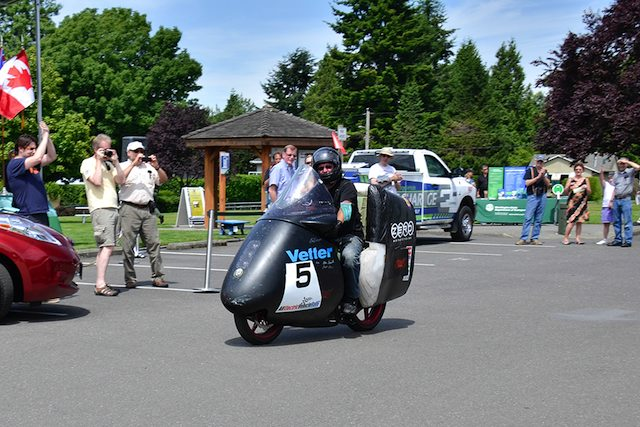 All Electric Vehicle Rally 2013 motor