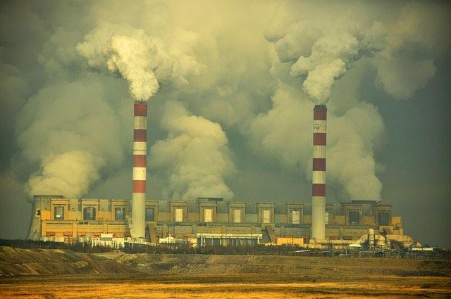 A bełchatówi erőmű. kép: Greenpeace Polska