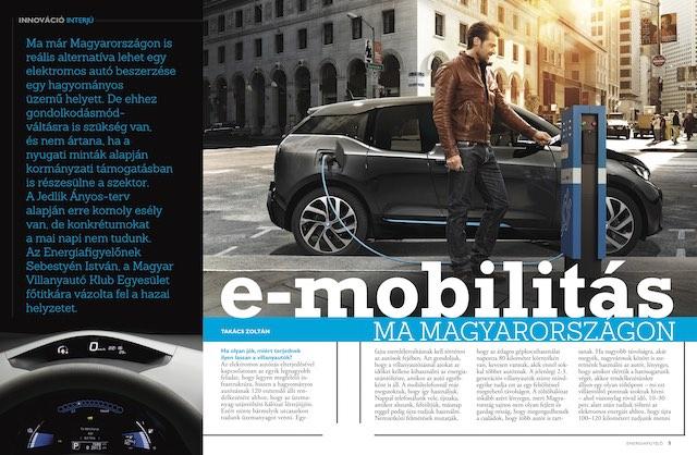 E-mobilitás ma Magyarországon