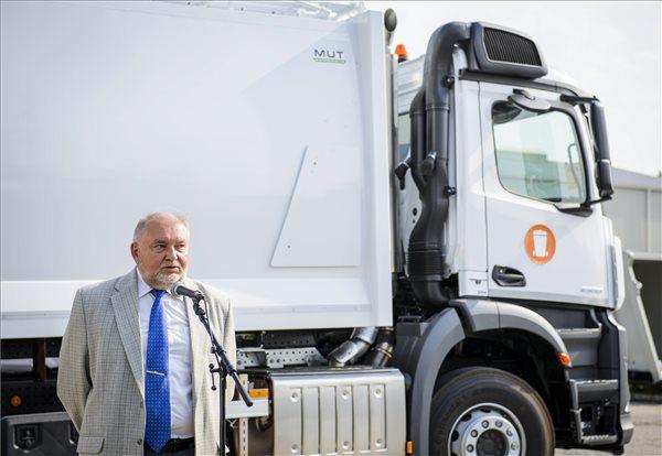 Jámbor László, a MUT Hungária Kft. ügyvezető igazgatója. MTI Fotó: Bodnár Boglárka
