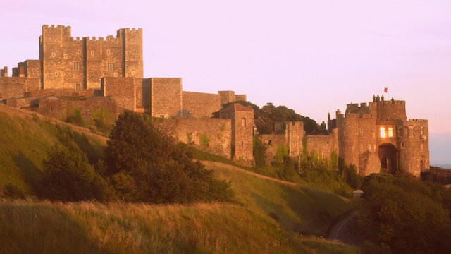 Dover Castle. kép: wikipedia