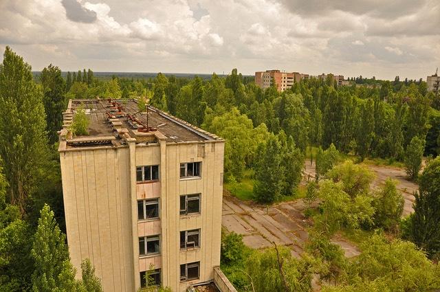 Pripjaty. Szellemváros Csernobiltól 16 kilométerre. kép:  Jennifer Boyer