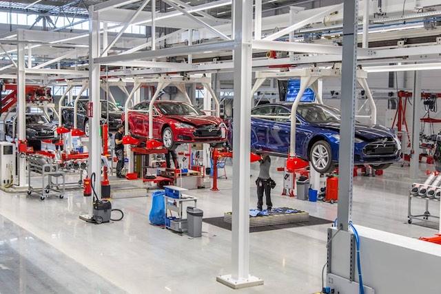 A Tesla hollandiai gyára. kép: Teslamotors/facebook