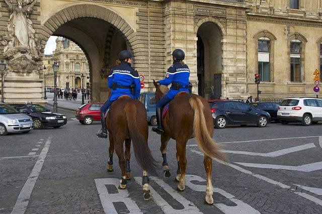 Párizs rendőrség