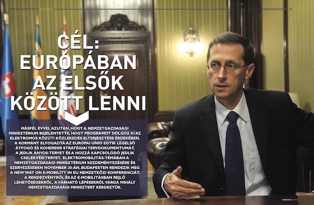 Varga Mihály interjú Energiafigyelő magazin