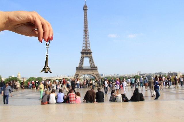 Párizs Eiffel torony mini