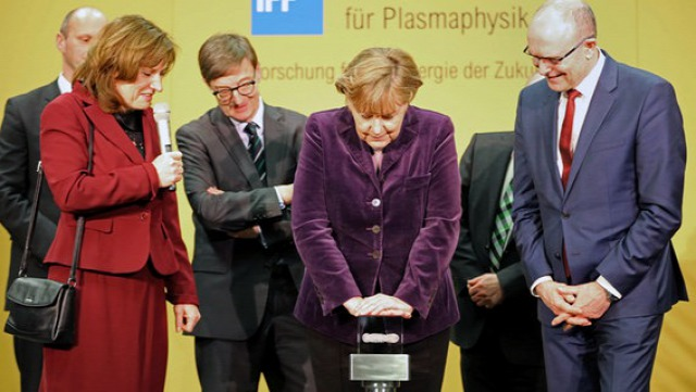 Angela Merkel Greifswald