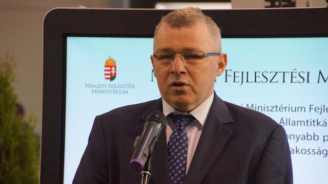 Szabó Zsolt. fotó: energiaoldal.hu/Takács zoltán