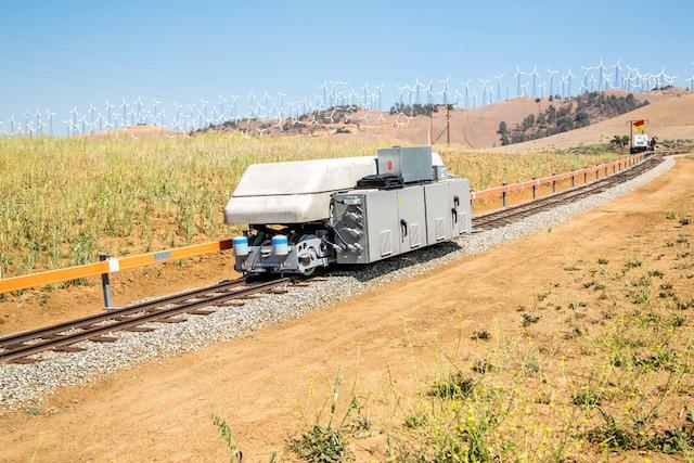 Ares energiatároló vonatok