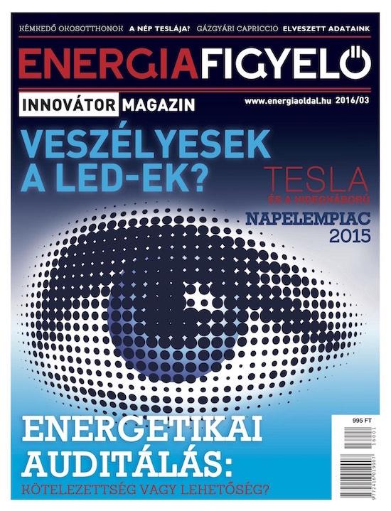 Energiafigyelő magazin 2016-1 borító