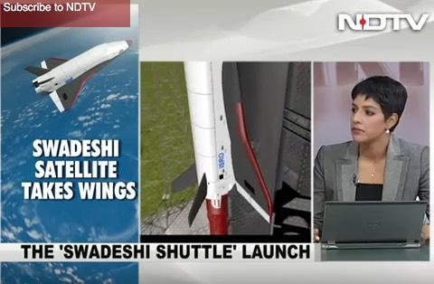 Indiai űrhajó RLV-TD