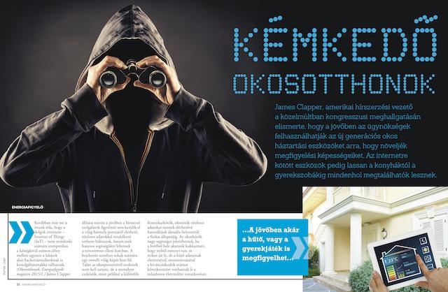 Kémkedő okosotthonok - Energiafigyelő magazin