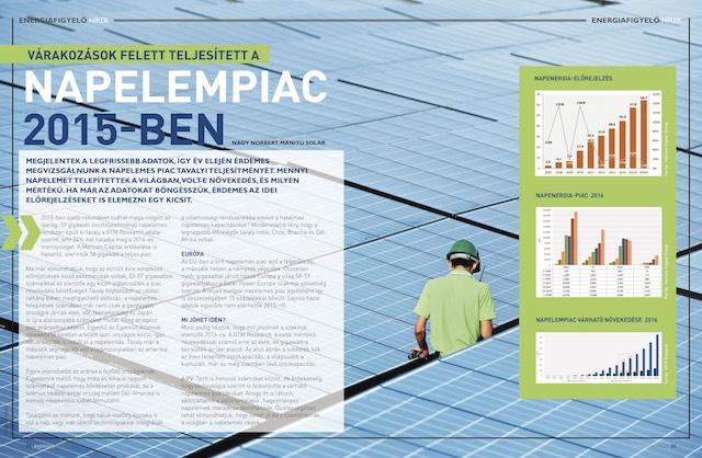 Napelempiac 2015 - Energiafigyelő magazin