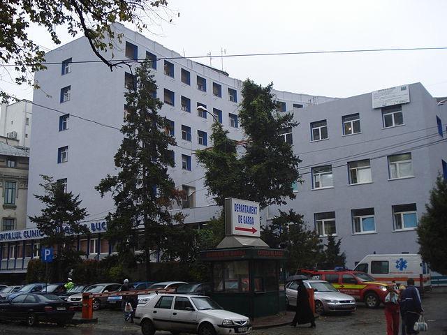 A bukaresti Floreasca kórház. kép: wikipedia