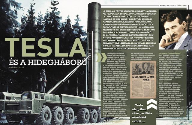 Tesla és a hidegháború - Energiafigyelő magazin