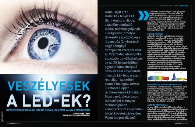 Veszelyések a LED-ek - Energiafigyelő magazin