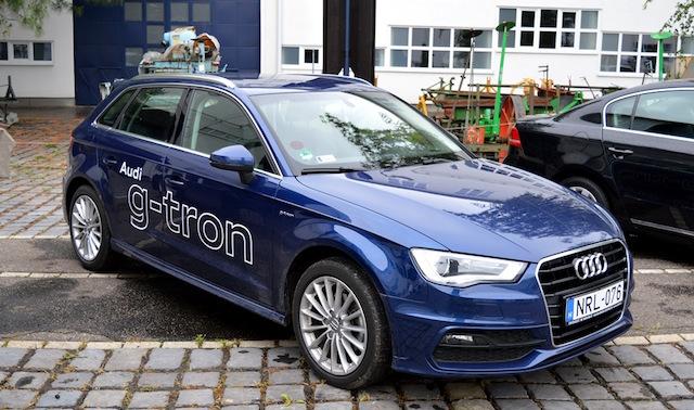 Audi G-tron CNG autókiállítás Gödöllő
