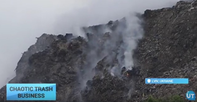 Ukrajna Lemberg hulladék katasztrófa