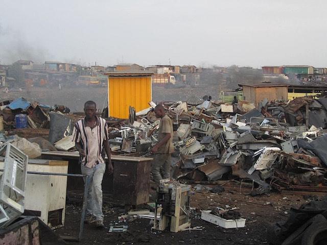 Agbogbloshie. kép: wikipedia