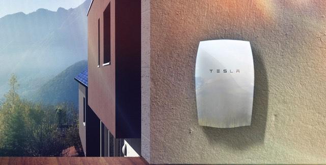 Tesla fali akkumulátor Powerwall