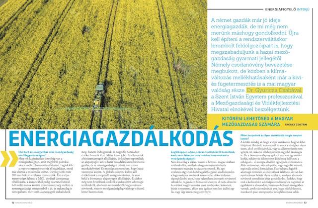 Energiagazdálkodás - Energiafigyelő magazin