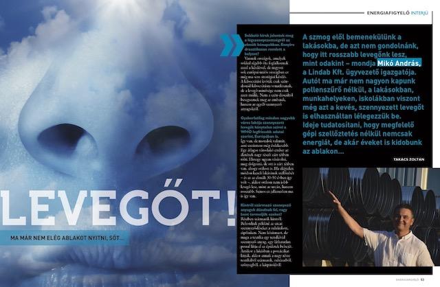 Levegőt - Energiafigyelő magazin