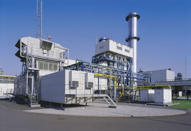 Alteo Agria Park gázmotoros erőmű. kép: alteo.hu