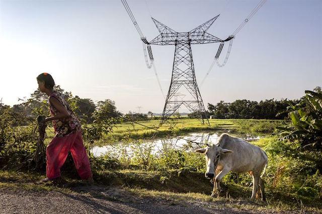 ABB_HVDC_távvezeték_földvédelem_egyharmadnyi_helyigény India