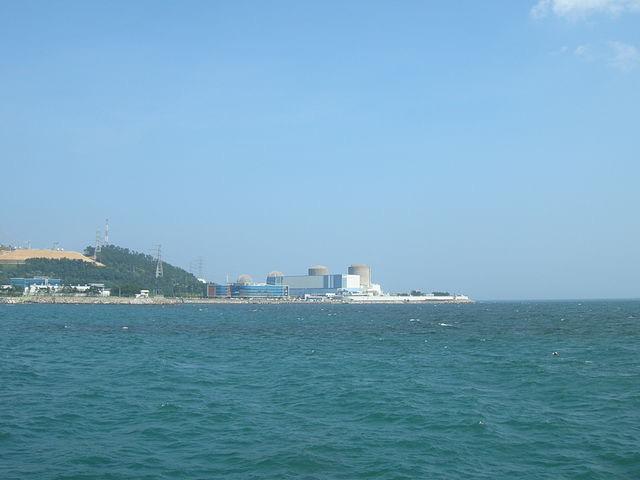 A Kori Atomerőmű Dél-Koreában. kép: wikipedia