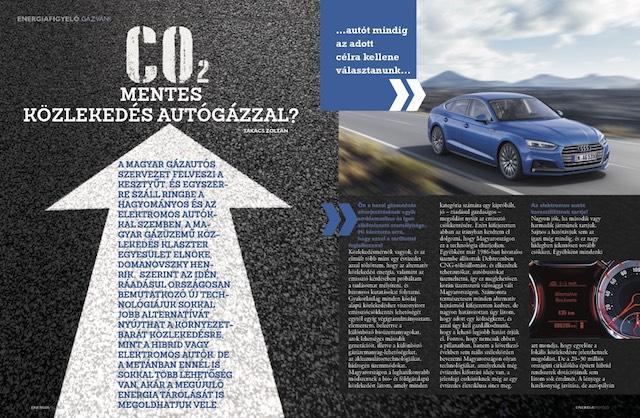 CO2 mentes közlekedés autógázzal