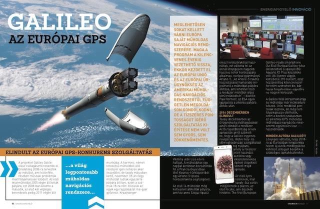 Galileo az európai GPS