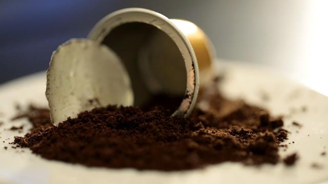 Nespresso kávékapszula újrahasznosítás