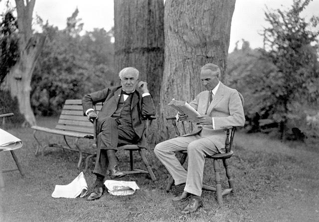 Thomas Edison és Henry Ford